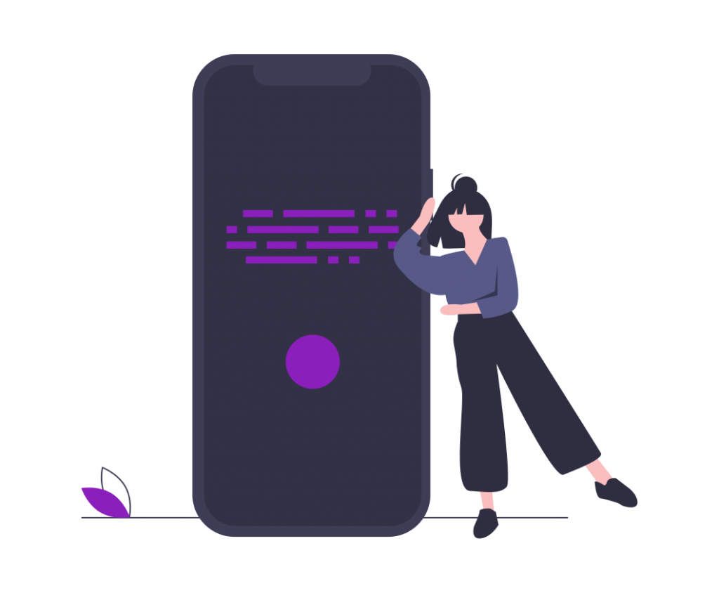 voice search in google illustration