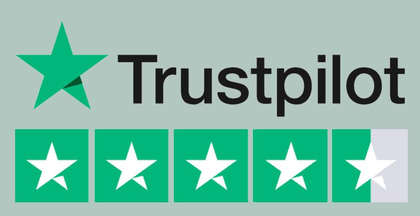 trust pilot excellent review rating